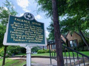 william faulkner house